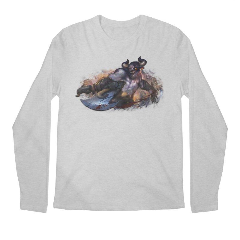 Ragin' Bull Men's Longsleeve T-Shirt by Shirts by Noc