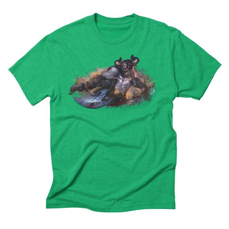 Ragin' Bull Men's Triblend T-Shirt by Shirts by Noc