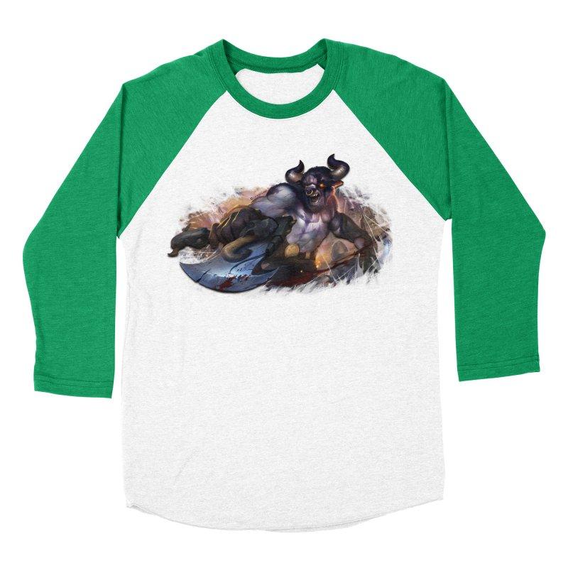 Ragin' Bull Men's Baseball Triblend Longsleeve T-Shirt by Shirts by Noc