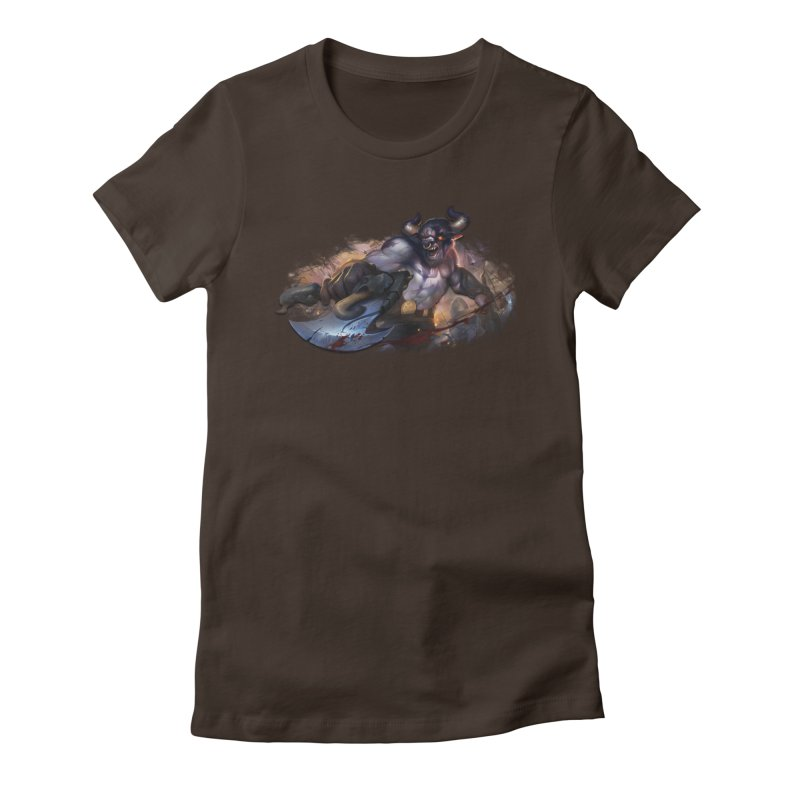 Ragin' Bull Women's T-Shirt by Shirts by Noc