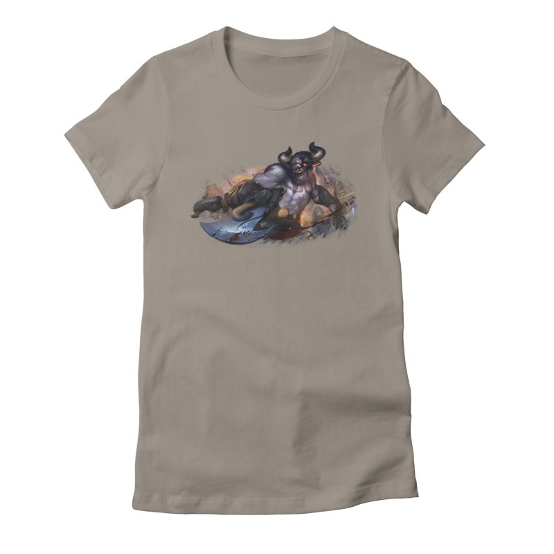Ragin' Bull Women's T-Shirt by Shirts by Noc
