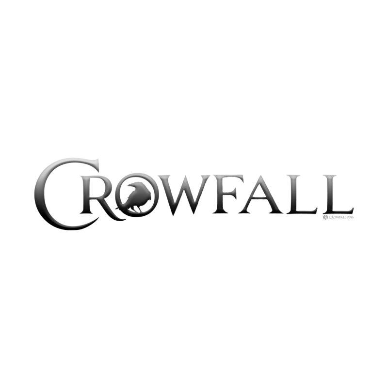 Crowfall Logo Kids T-Shirt by Shirts by Noc
