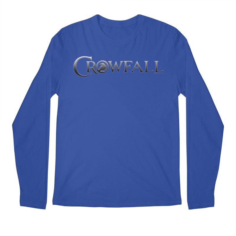 Crowfall Logo Men's Regular Longsleeve T-Shirt by Shirts by Noc
