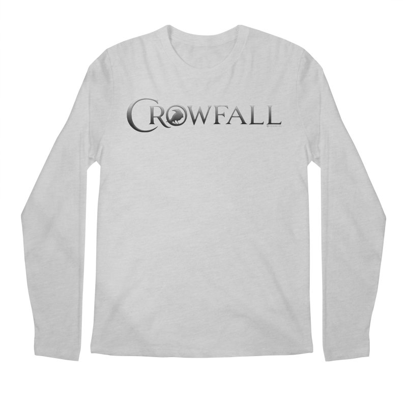 Crowfall Logo Men's Regular Longsleeve T-Shirt by Shirts by Noc
