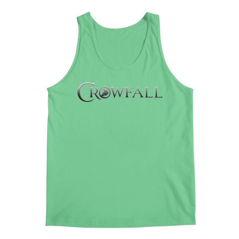 Crowfall Logo Men's Regular Tank by Shirts by Noc