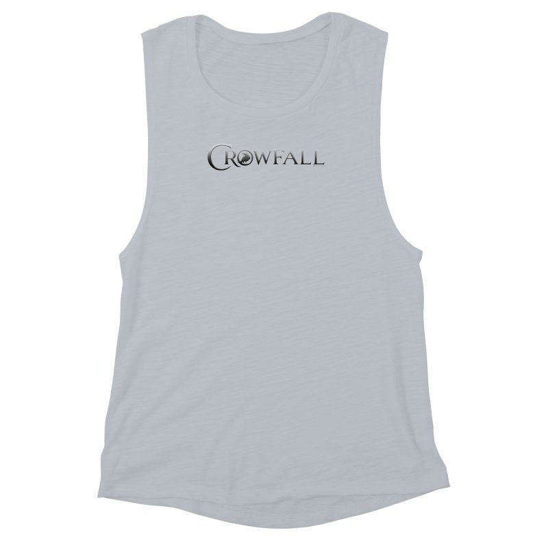 Crowfall Logo Women's Muscle Tank by Shirts by Noc