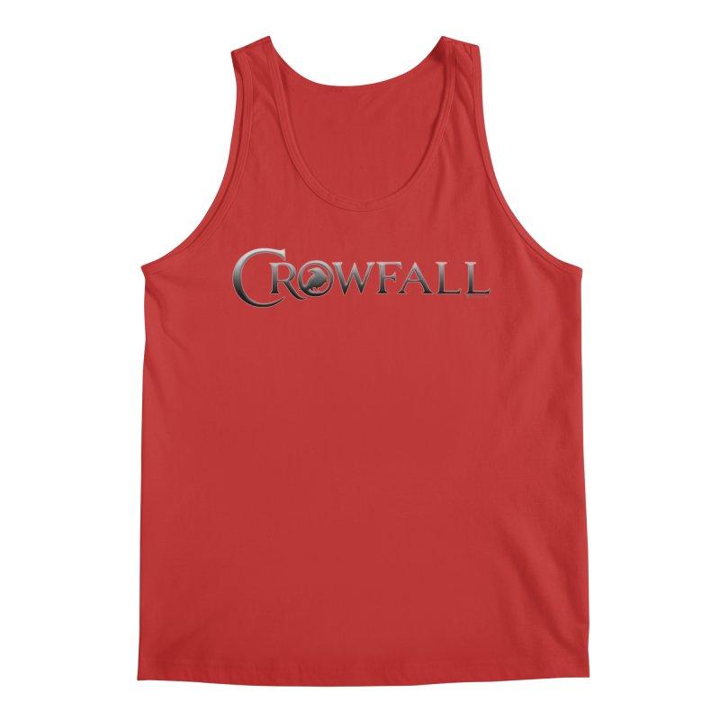 Crowfall Logo Men's Regular Tank by Shirts by Noc