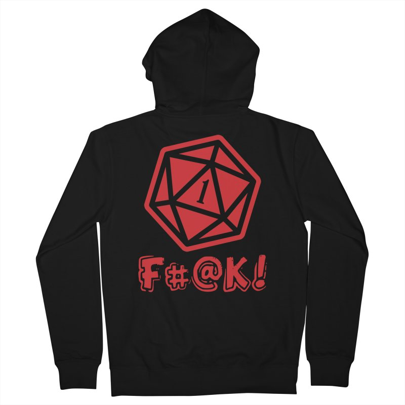 Crit Fail! Women's Zip-Up Hoody by Shirts by Noc