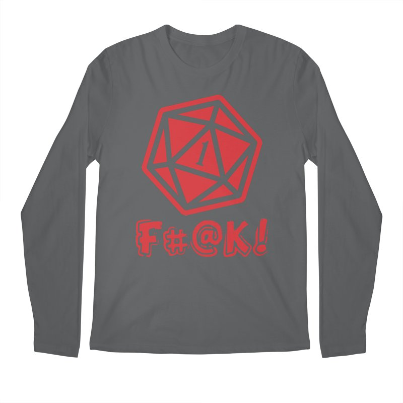 Crit Fail! Men's Regular Longsleeve T-Shirt by Shirts by Noc