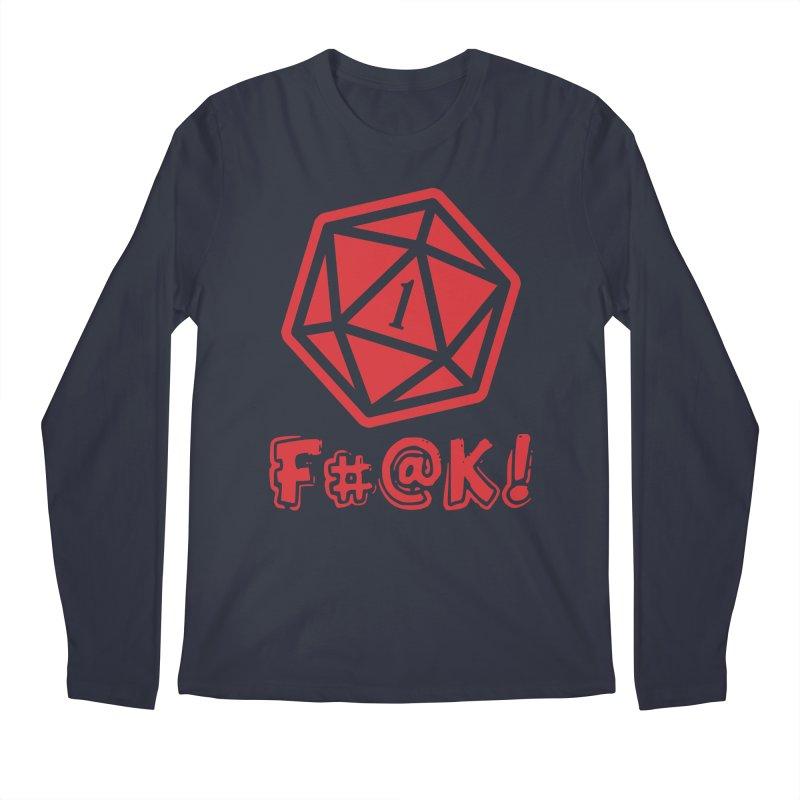Crit Fail! Men's Longsleeve T-Shirt by Shirts by Noc