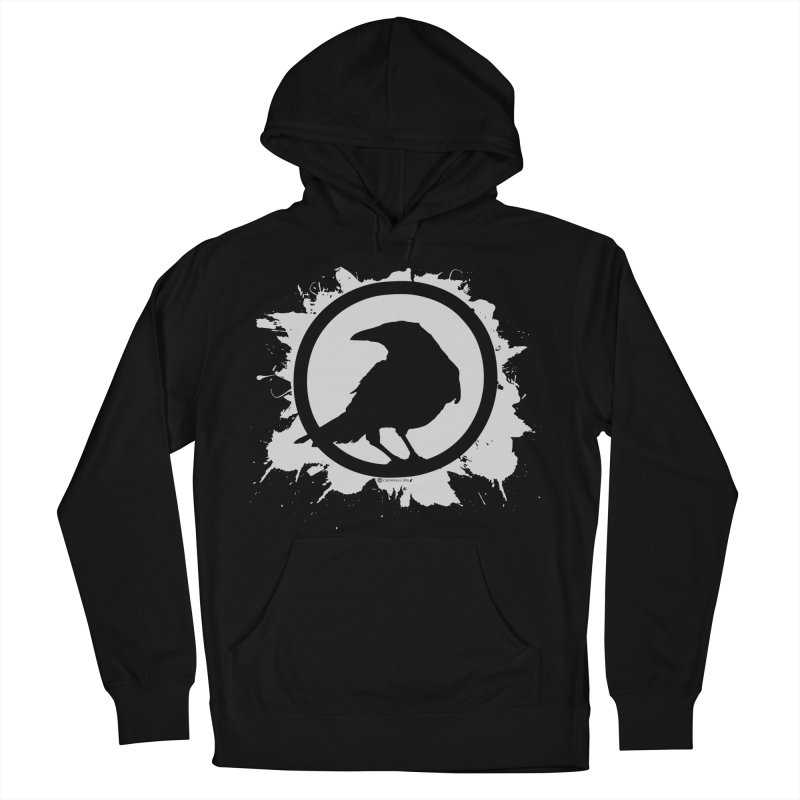 Crowfall Splatter Men's Pullover Hoody by Shirts by Noc