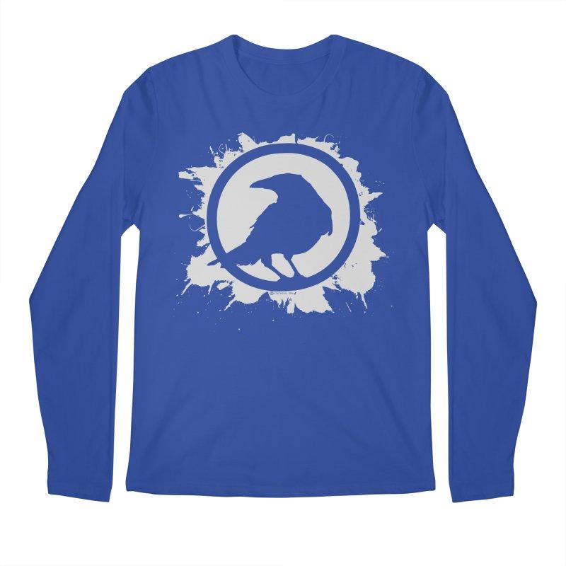 Crowfall Splatter Men's Longsleeve T-Shirt by Shirts by Noc