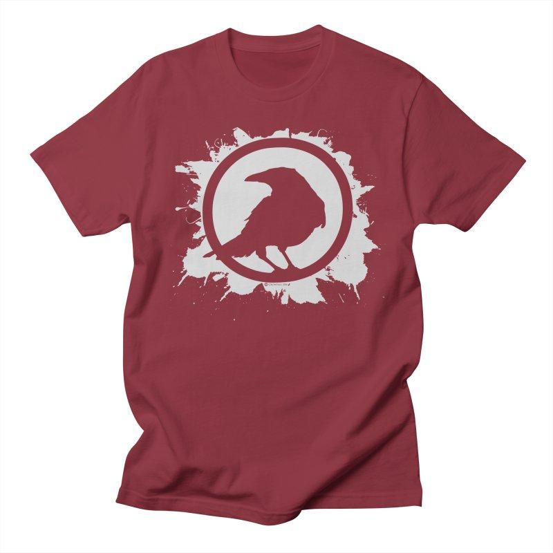Crowfall Splatter Men's T-Shirt by Shirts by Noc