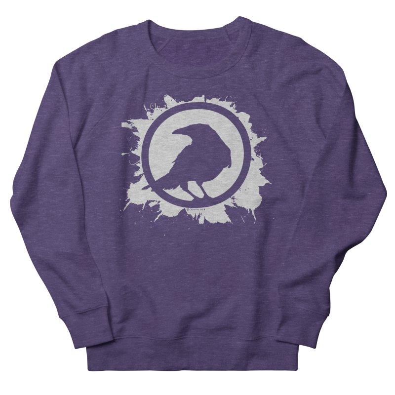Crowfall Splatter Men's Sweatshirt by Shirts by Noc