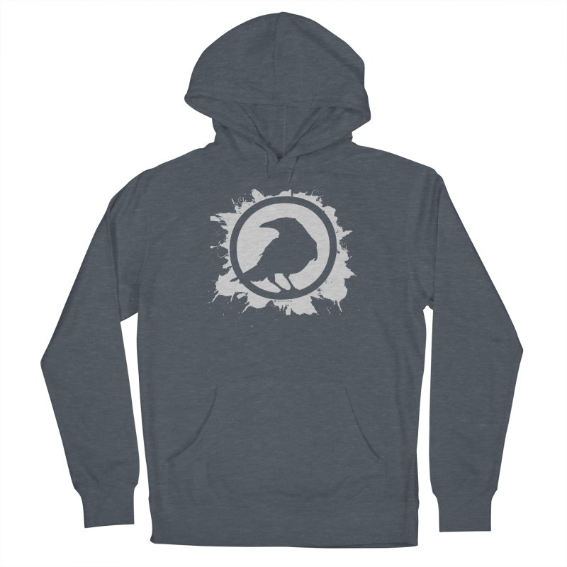 Crowfall Splatter Women's Pullover Hoody by Shirts by Noc