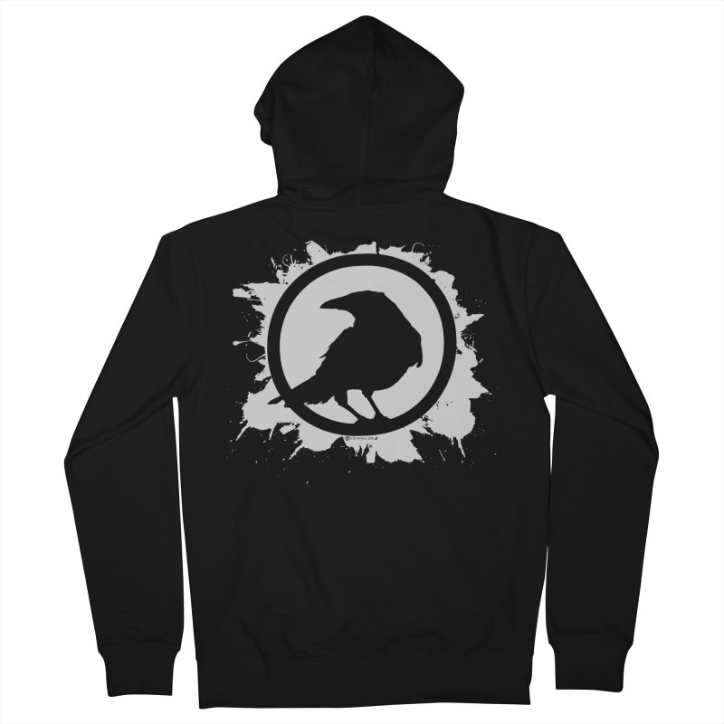 Crowfall Splatter Women's Zip-Up Hoody by Shirts by Noc