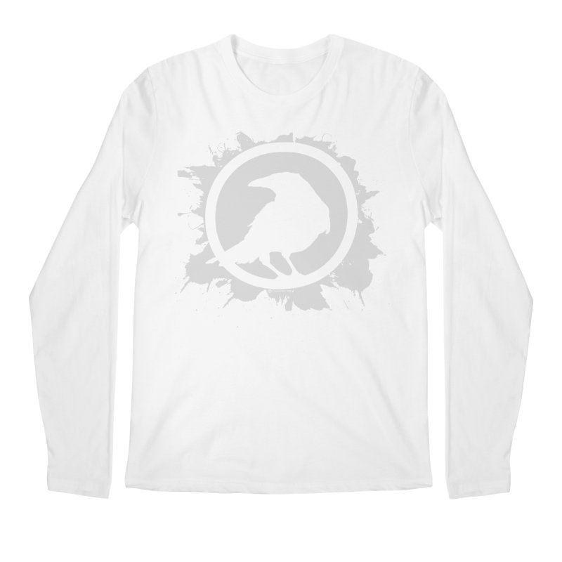 Crowfall Splatter Men's Longsleeve T-Shirt by Shirts by Noc