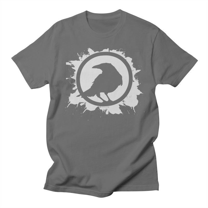 Crowfall Splatter Men's Regular T-Shirt by Shirts by Noc