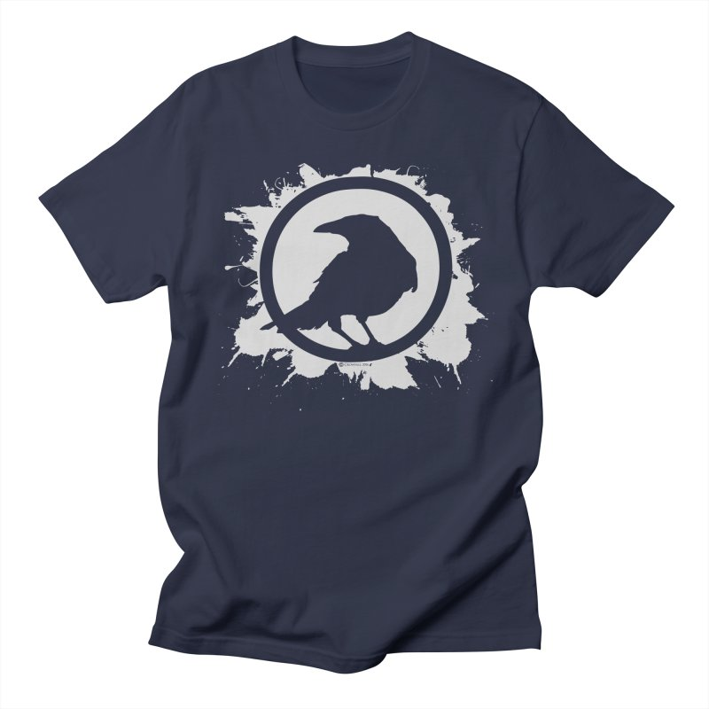 Crowfall Splatter Men's T-Shirt by Shirts by Noc