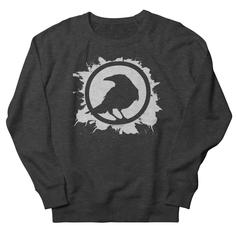 Crowfall Splatter Men's Sweatshirt by Shirts by Noc