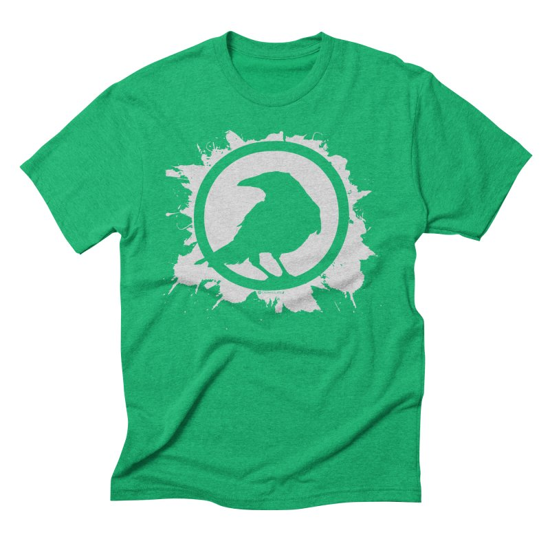 Crowfall Splatter Men's Triblend T-Shirt by Shirts by Noc