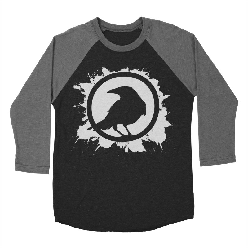 Crowfall Splatter Women's Baseball Triblend Longsleeve T-Shirt by Shirts by Noc