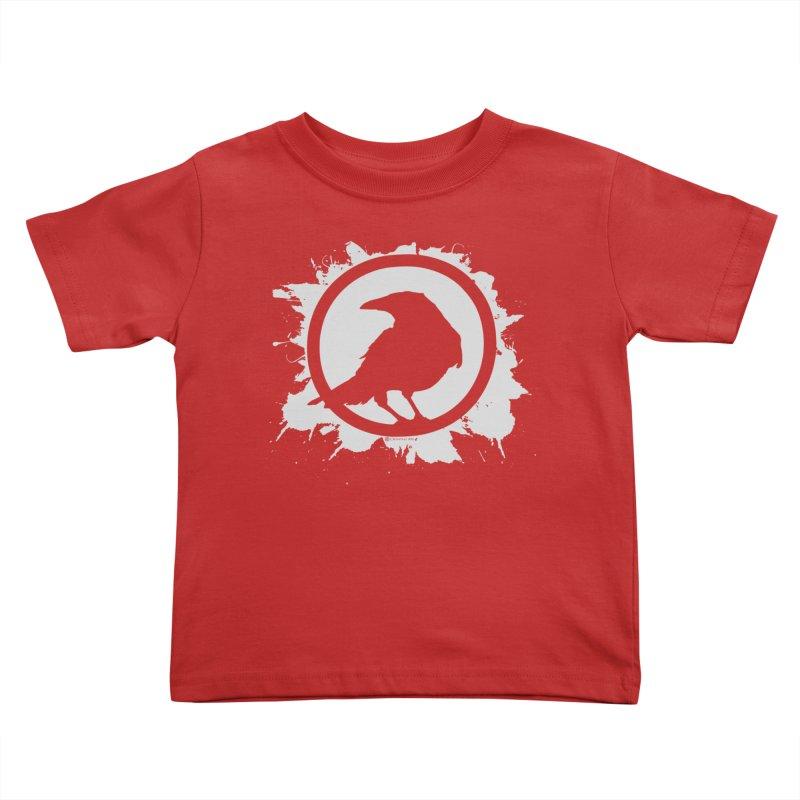 Crowfall Splatter Kids Toddler T-Shirt by Shirts by Noc