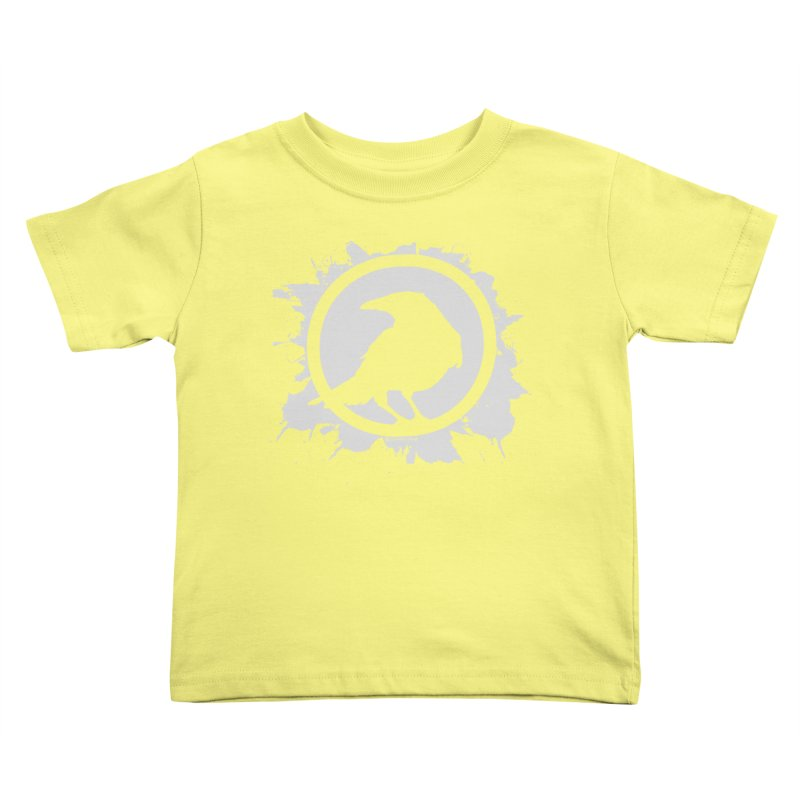 Crowfall Splatter Kids Toddler T-Shirt by Shirts by Noc