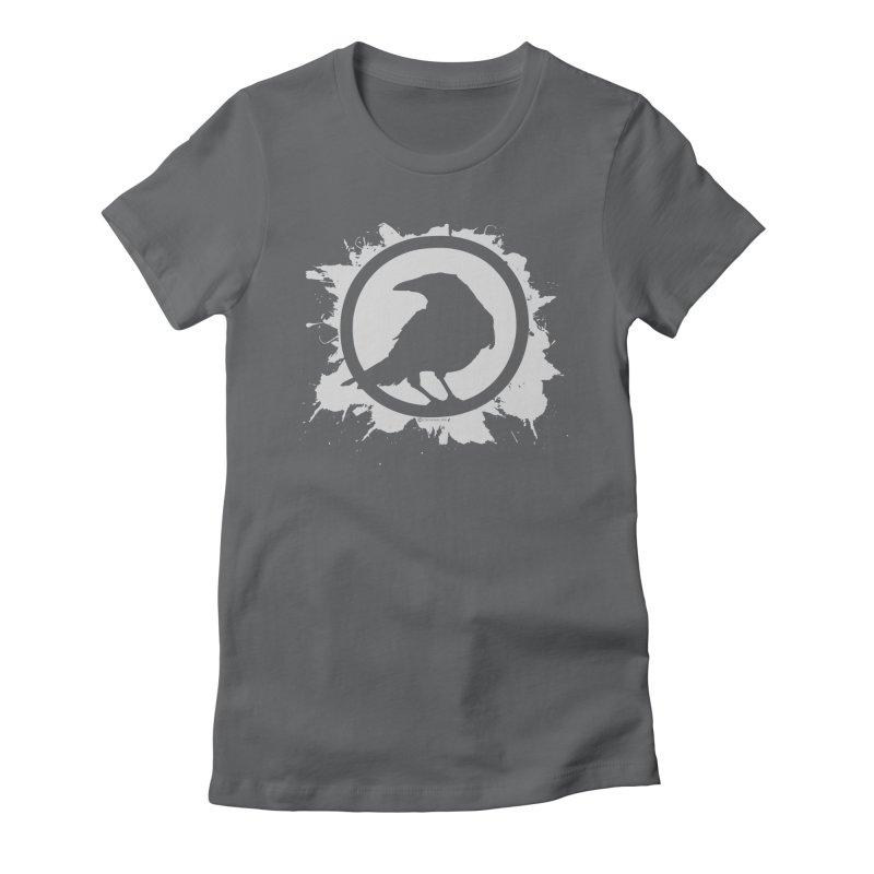 Crowfall Splatter Women's T-Shirt by Shirts by Noc