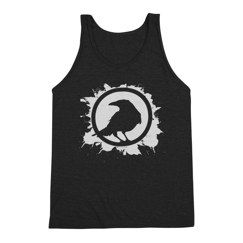 Crowfall Splatter Men's Triblend Tank by Shirts by Noc
