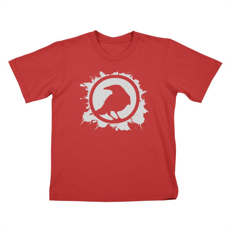Crowfall Splatter Kids T-Shirt by Shirts by Noc