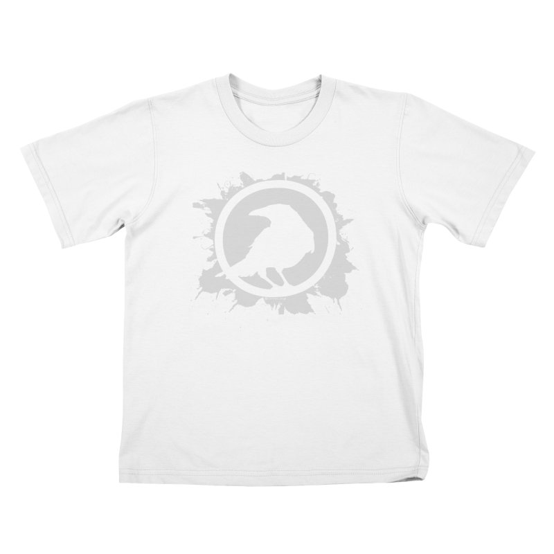 Crowfall Splatter Kids T-Shirt by Shirts by Noc