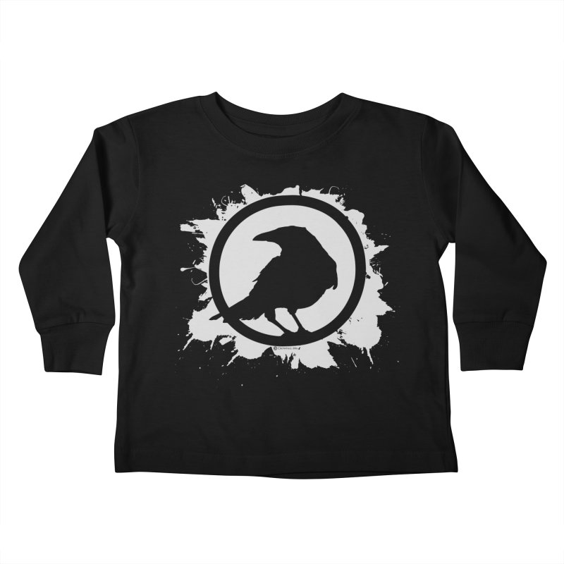 Crowfall Splatter Kids Toddler Longsleeve T-Shirt by Shirts by Noc