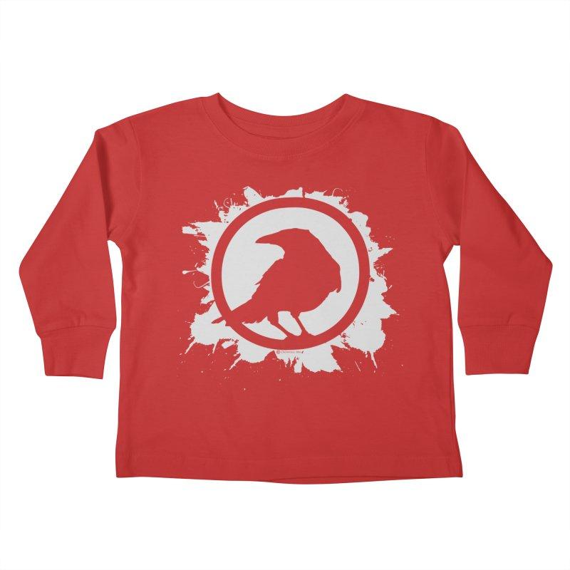 Crowfall Splatter Kids Toddler Longsleeve T-Shirt by Shirts by Noc