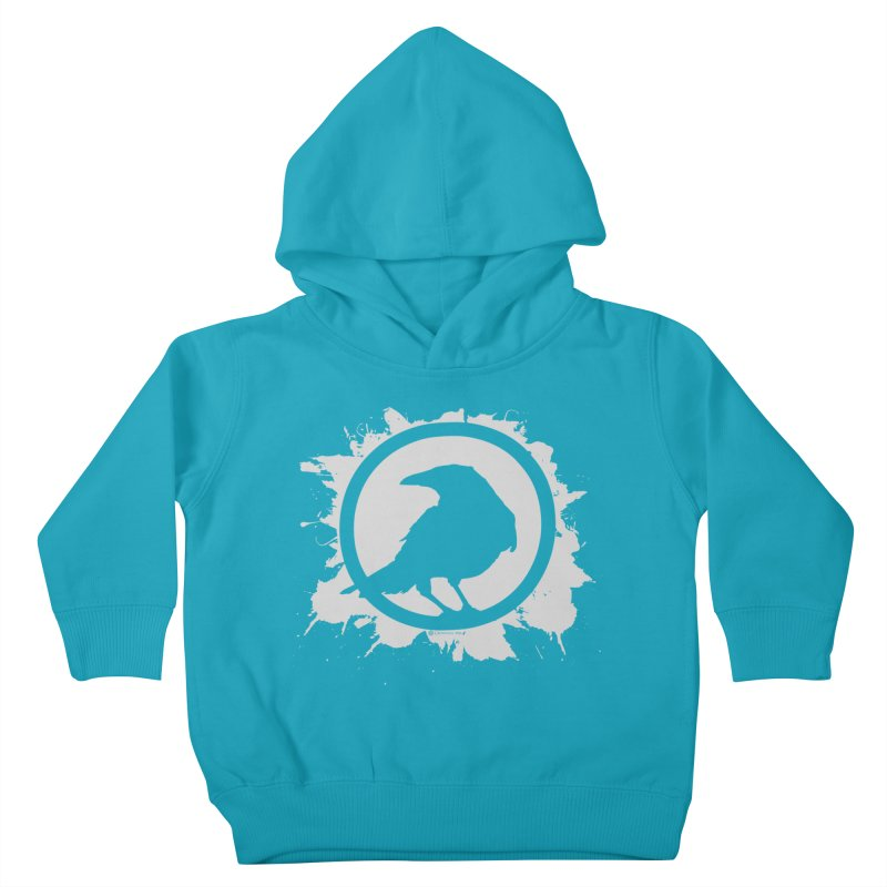 Crowfall Splatter Kids Toddler Pullover Hoody by Shirts by Noc