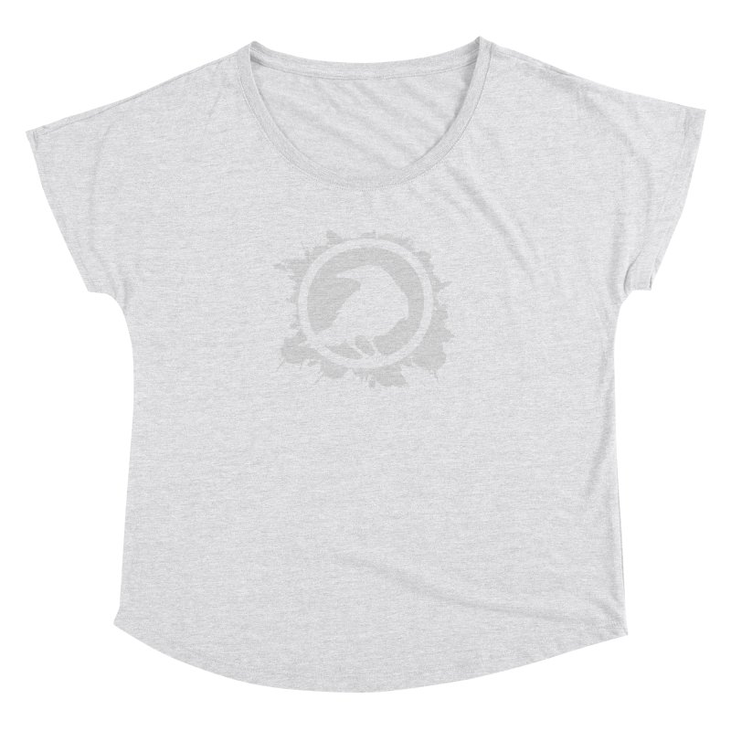 Crowfall Splatter Women's Dolman Scoop Neck by Shirts by Noc
