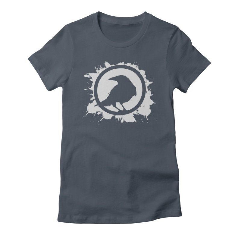 Crowfall Splatter Women's T-Shirt by Shirts by Noc