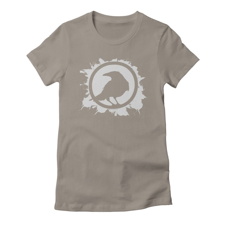 Crowfall Splatter Women's Fitted T-Shirt by Shirts by Noc