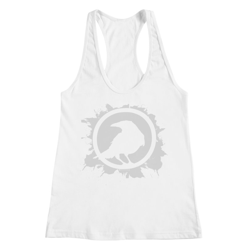 Crowfall Splatter Women's Racerback Tank by Shirts by Noc