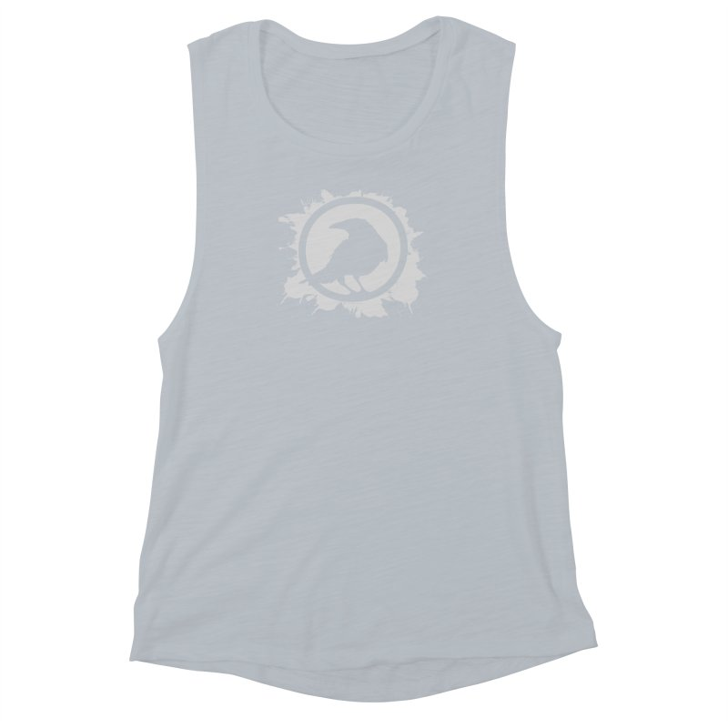 Crowfall Splatter Women's Muscle Tank by Shirts by Noc