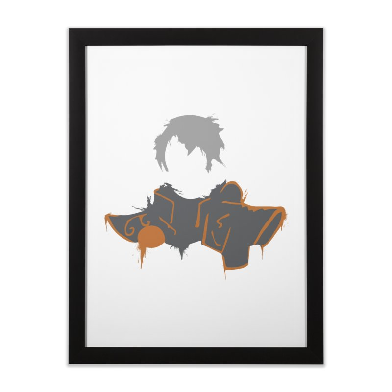 Confessor Graffiti Home Framed Fine Art Print by Shirts by Noc