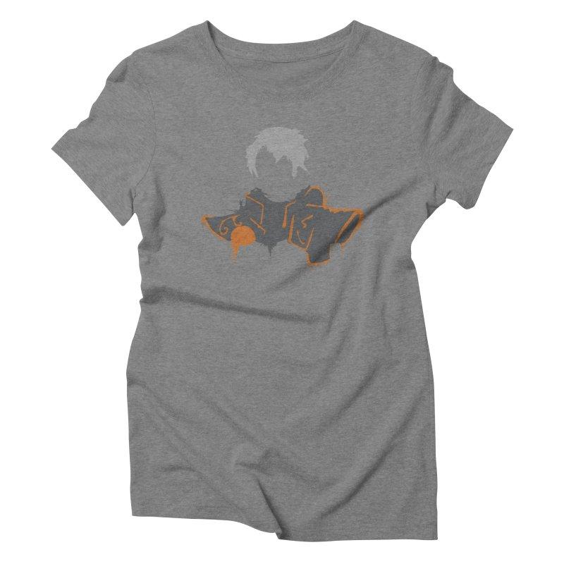 Confessor Graffiti Women's Triblend T-Shirt by Shirts by Noc