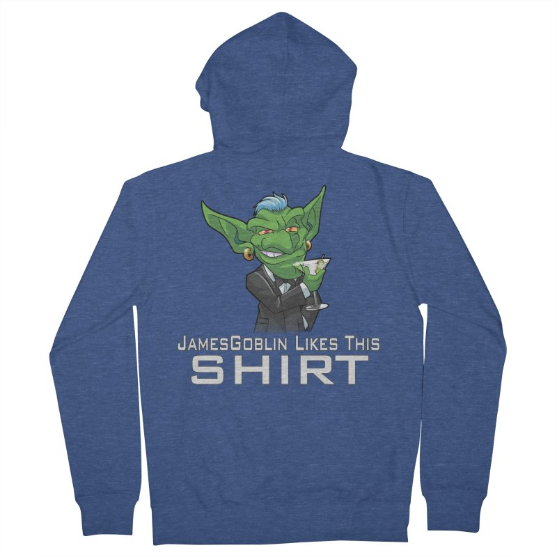 Someone Likes This! Men's Zip-Up Hoody by Shirts by Noc