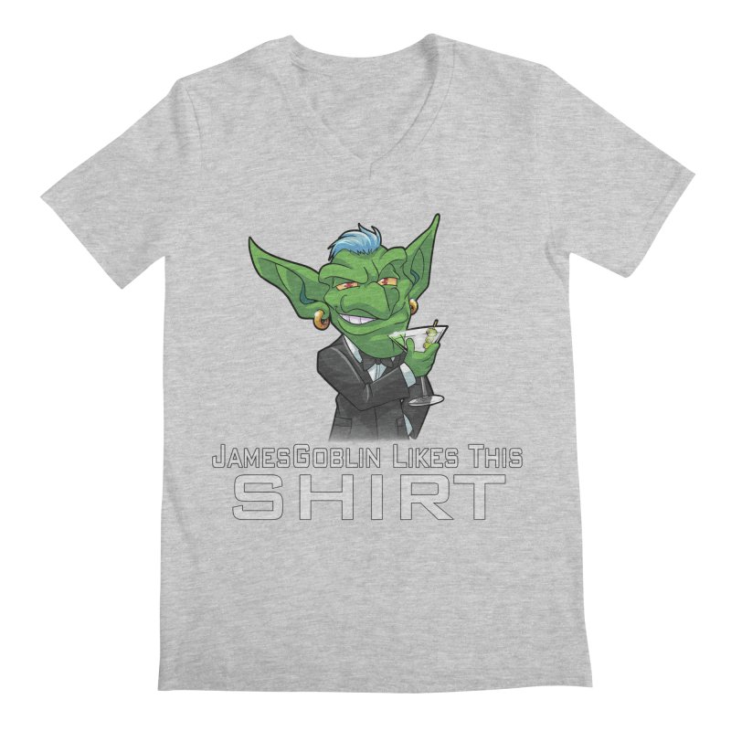 Someone Likes This! Men's V-Neck by Shirts by Noc