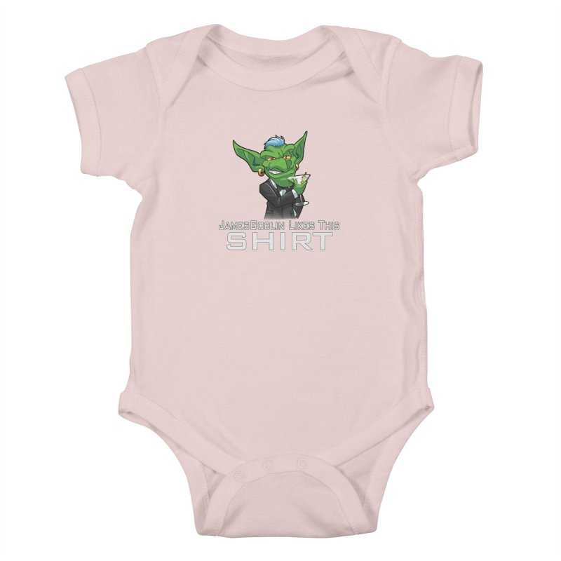 Someone Likes This! Kids Baby Bodysuit by Shirts by Noc