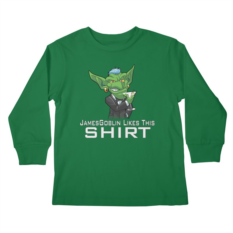 Someone Likes This! Kids Longsleeve T-Shirt by Shirts by Noc