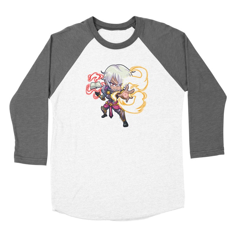 Chibi Series 1: Confessor Men's Baseball Triblend Longsleeve T-Shirt by Shirts by Noc