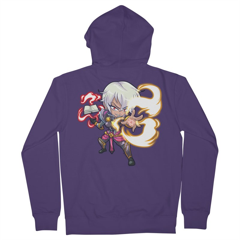 Chibi Series 1: Confessor Women's French Terry Zip-Up Hoody by Shirts by Noc