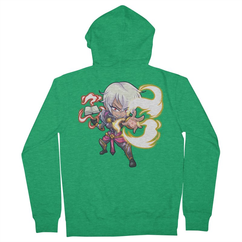 Chibi Series 1: Confessor Men's Zip-Up Hoody by Shirts by Noc