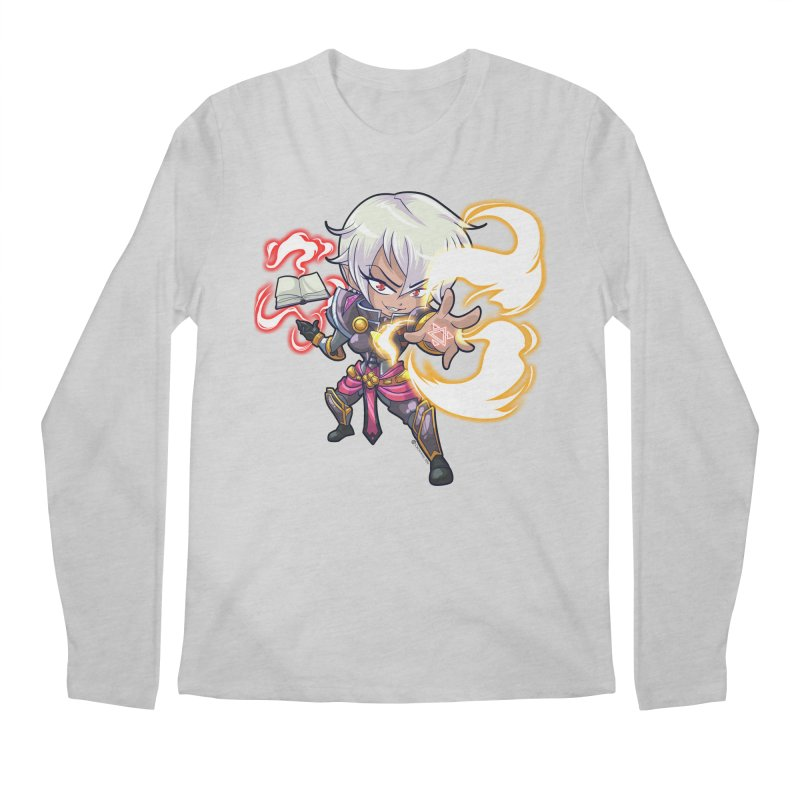Chibi Series 1: Confessor Men's Regular Longsleeve T-Shirt by Shirts by Noc